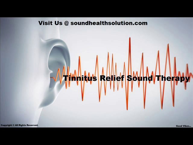 MOST POWERFUL TINNITUS SOUND THERAPY 1 Hr Tinnitus Treatment Ringing in Ears Tinnitus Masking Sounds