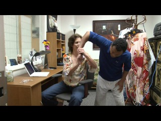 Aikido - Self Defense for   Women - Penny Bernath - #16 -   Office Attack.