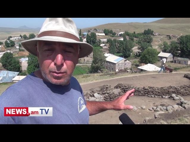 Գեղարոտի պեղումները Раскопки в Гехароте Рубен Бадалян