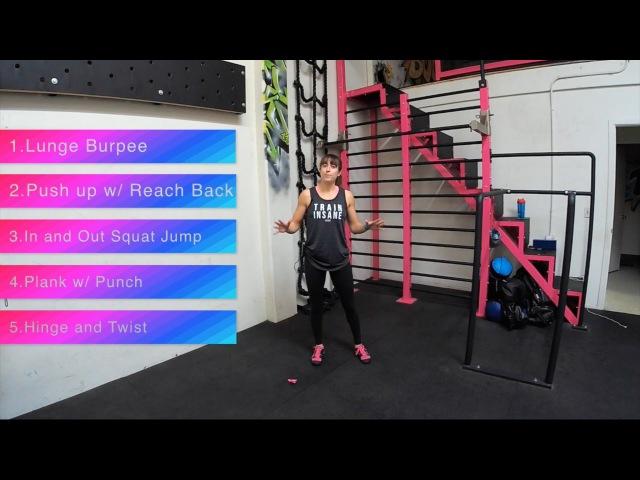 5 Minute Full Body Burnout Follow Along