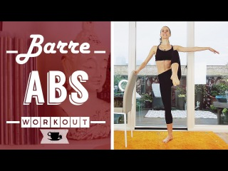 Barre Abs Fitness Workout | Lazy Dancer Tips
