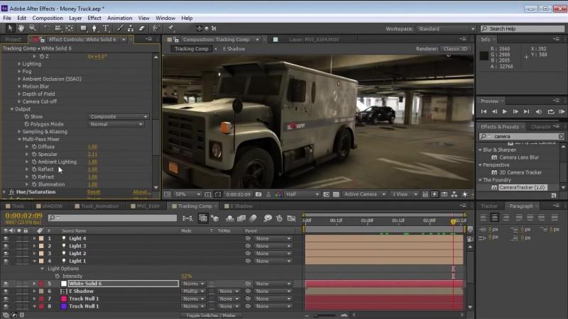 Как вставить 3D графику в видео! After Effects VideoCopilot