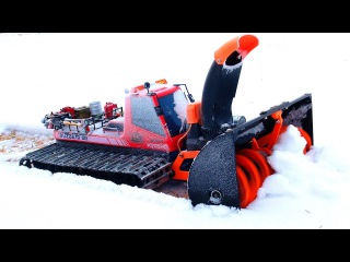 AMAZiNG 3D Printed Snow Blower - Tree Branch Clog - MUST SEE!