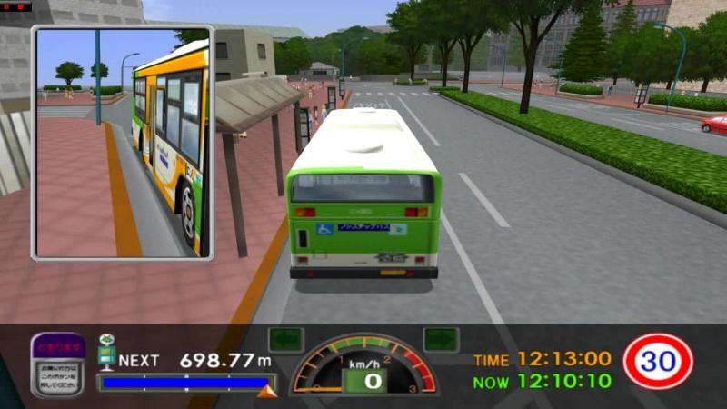 PS 2 СИМУЛЯТОР АВТОБУСА Tokyo Bus Guide 2 PCSX 2 16 9 HD 720 p