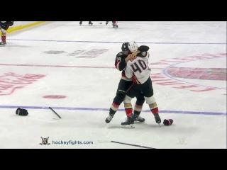 Jared Boll vs Mark Borowiecki Dec 22, 2016