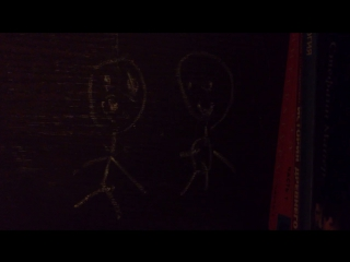 Мультик про нарисованного человечка