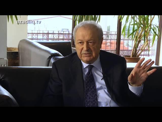Keçmiş prezident Ayaz Mütəllibov maraqlı detallar haqda danışır (2015)