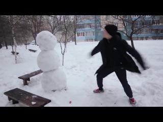 Как отпздить снеговика! Ахаха! Смешные видео 2016! Короткие видео приколы 2016! Юмор! ...