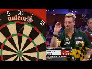 Simon Whitlock vs Jeff Smith (Grand Slam of Darts 2016 / Group C)