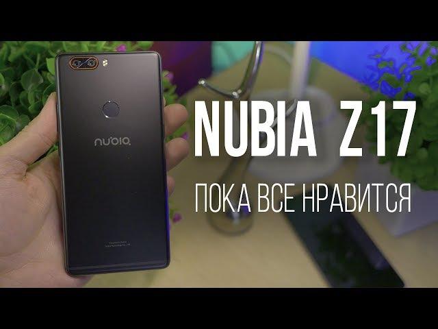 ZTE Nubia Z17 пахнет камерафоном Пока все нравится Распаковка