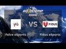 Dota 2: Fidus eSports vs Feive eSports,G2O $500 Tournament, 1/8 финала