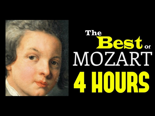 The Best of Mozart 4 Hours Classical Music Playlist for concentration. HQ Recording