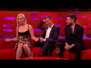 Jennifer Lawrence, James McAvoy, Johnny Depp!