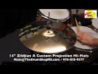 Zildjian A Custom Projection Hi-Hats 14'' - The Drum Shop North Shore