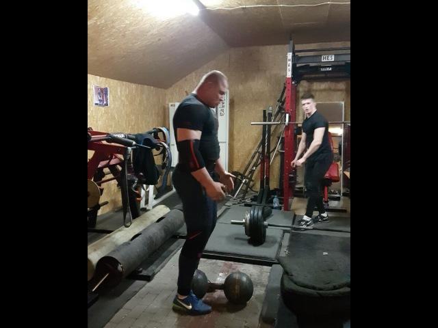 Килешковский дамбл 127 кг