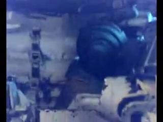 Стрельба из танка (вид внутри)