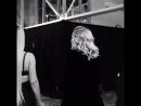Madonna Kim Kardashian на презентации косметики «MDNA Skin» x «KKW Beauty»