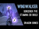 Stamina Sorcerer PvE Build Windwalker - Dragon Bones DLC Elder Scrolls Online