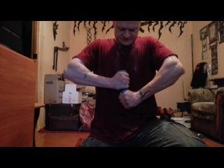 1 Часть. Тренировки по сгибанию.  гвоздь  на 180  голые руки  до 60 градусов