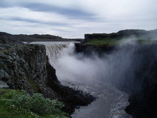 Деттифосс (Dettifoss) — самый мощный водопад в Европе, изображение №6