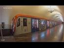 Парад поездов московского метро 2017 покатушки Parade of trains of the Moscow Metro