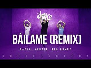 Báilame (Remix) - Nacho, Yandel, Bad Bunny   FitDance Life (Coreografía) Dance Video