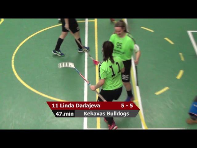 S1 1/2(3.spēle): Ķekavas Bulldogs - Rubene-1 8:7 OT (15.03.2018)