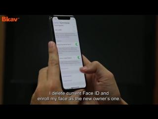Mặt nạ sinh đôi nhân tạo của bkav đánh bại face id- không dùng face id trong giao dịch thương mại