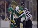Joey Kocur vs Link Gaetz Jan 9 1990
