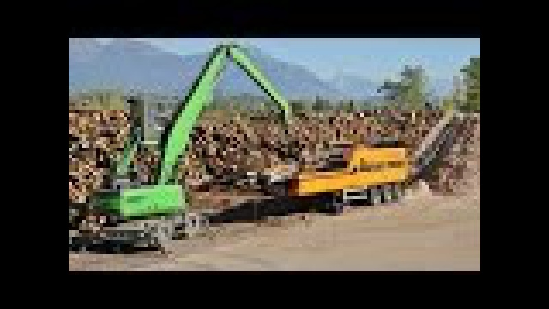 DOPPSTADT DH-910 SA Woodchipper Volvo Trucks Loader BETTEGA BIOMASSE