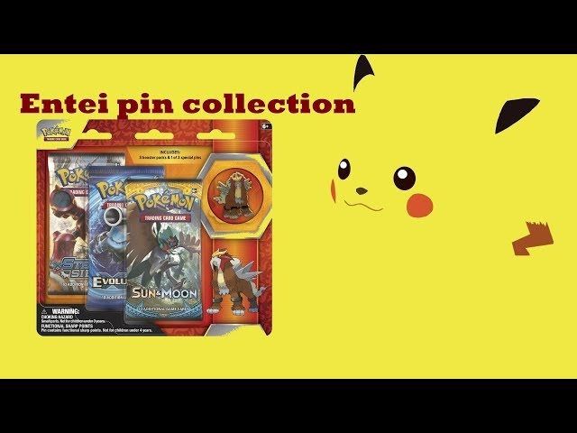 Entei pin blister