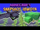 Minecraft 1 13 Snapshot 18w07a Update Aquatic Arrives Phantom Mob Turtle Mob Trident More