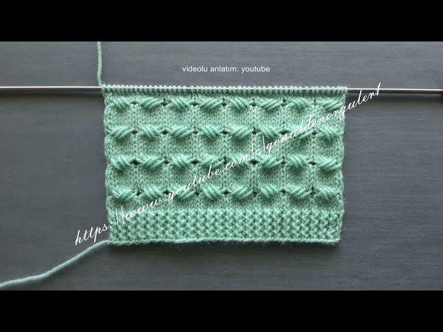 Çapraz Bağlar Örgü Modeli Bayan Yelek Bebek Battaniye Örnekleri 105