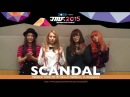 JMF - SCANDAL World Tour 2015 HELLO WORLD in Singapore message video