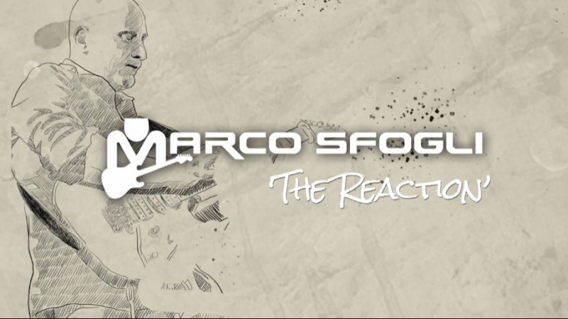 Marco Sfogli The Reaction Using JamTrack Amps by Toontrack