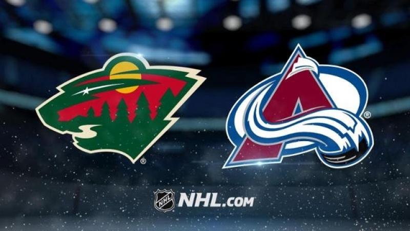 НХЛ регулярный чемпионат Колорадо Эвеланш Миннесота Уайлд 7 1 2 0 4 1 1 0
