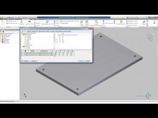 Создание параметрической детали в Inventor Основы