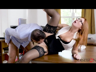 Ginger has some fun at work, eva berger [russian, babe, exclusive, amateurs, hd]