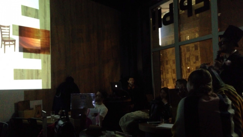 вечеринка мемная академия 2 2018 в бургерной дос бандидос на м октябрьское поле ул маршала бирюзова 34к2 телеведущий