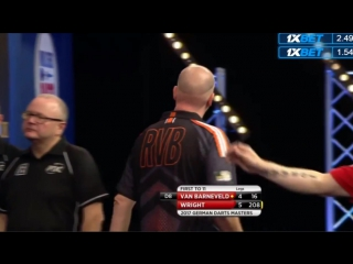 Raymond van Barneveld vs Peter Wright (PDC German Darts Masters 2017 / Semi Final)