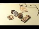 Kim Sulrok(Snowdeer).Wooden ring Pyrography Wood burning art