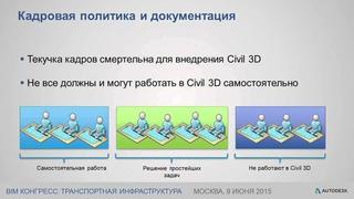 Организация работы в AutoCAD Civil 3D. Тонкости обучения, внедрения, применения и управления...