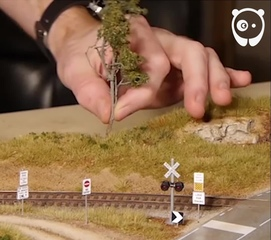 "Bored Panda on Instagram: ""Making of incredibly realistic scenery  #boredpanda #art #diorama #miniature #scaleart #bouldercreekrailroad"""