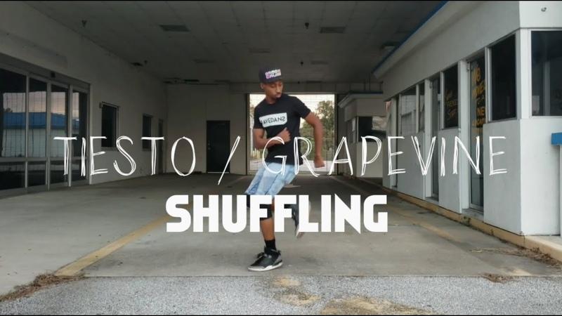 Tiesto SHUFFLING VIDEO TO GRAPEVINE