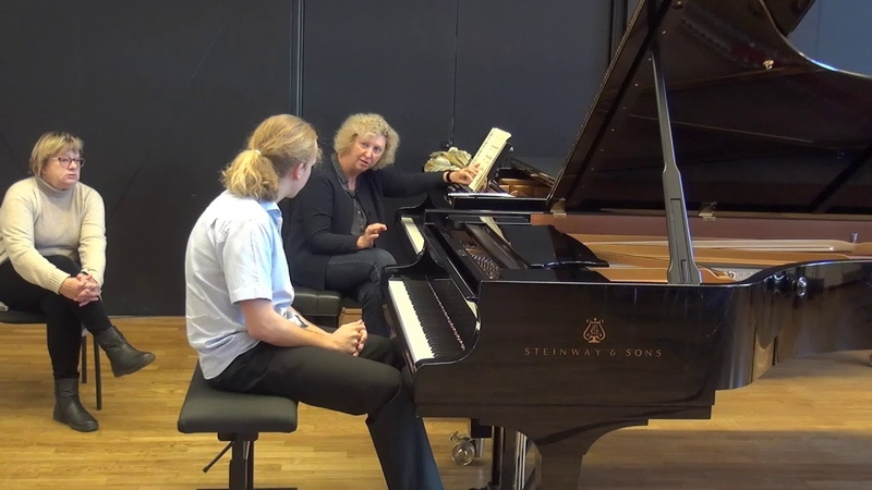 24 11 2018 M Marchenko's master classes Karl Johan Nutt EAMT Tallinn Estonia