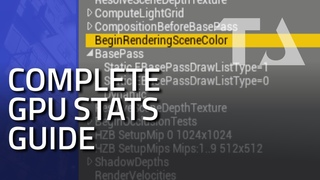 UE4 Graphics Profiling: All Categories Guide (Rendering Passes)