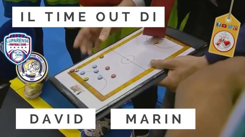 Tattica Futsal Time out di David Marin (Luparense) e lo schema da Corner