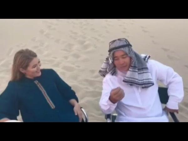Дубайдың Ақшұқыр деген ауылы