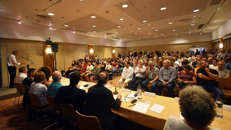 Jerónimo de Sousa: Sessão Pública «Trabalhadores apoiam a CDU»