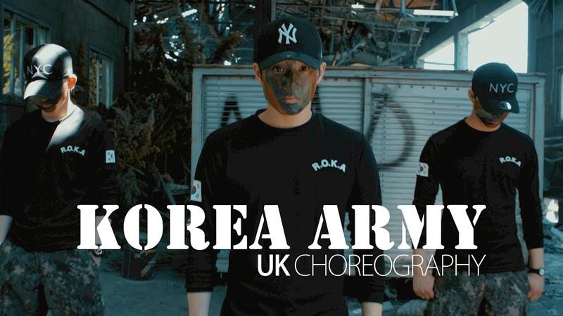 KOREA ARMY UK PROMOTION DANCE VIDEO DJ tjaey Look like you